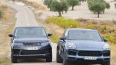 Comparativa Porsche Cayenne E-Hybrid vs Range Rover Sport P400e 2019