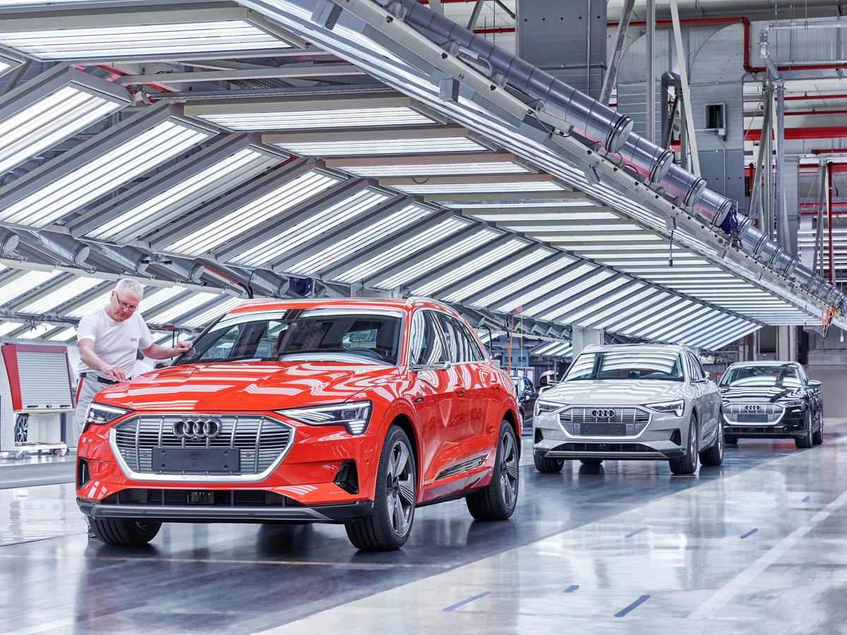 Planes electrificación Audi