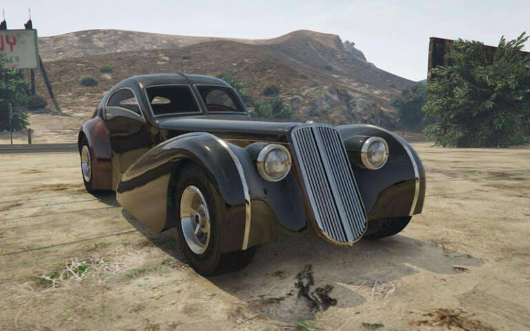 Truffade Z-Type – Bugatti Atlantic