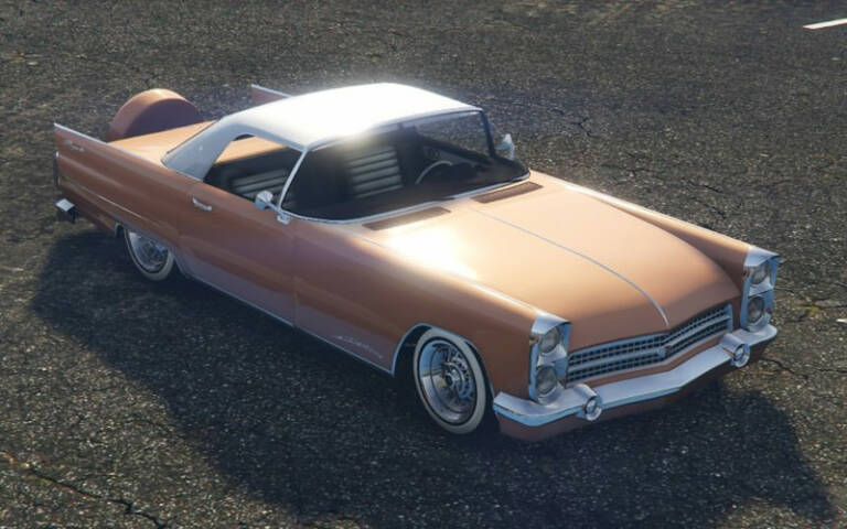 Vapid Peyote – Ford Thunderbird Convertible
