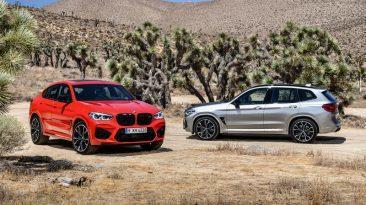 Prueba BMW X3 M y X4 M
