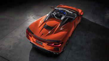 chevrolet corvette 2020 convertible