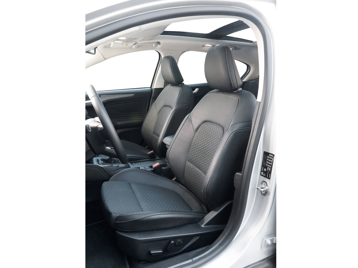 Ford Focus asientos