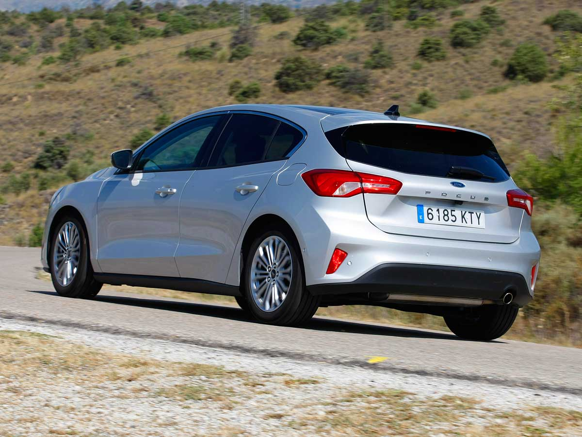 Ford Focus nuevo exterior