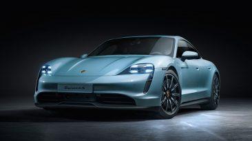 Porsche Taycan 4S 2020 frontal