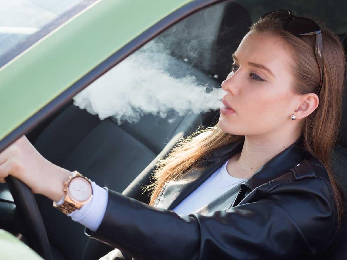 prohibido fumar en el coche 2019