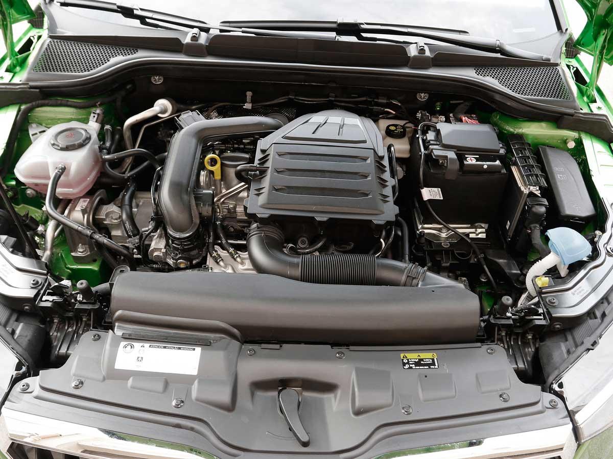 Skoda Scala motores 2019