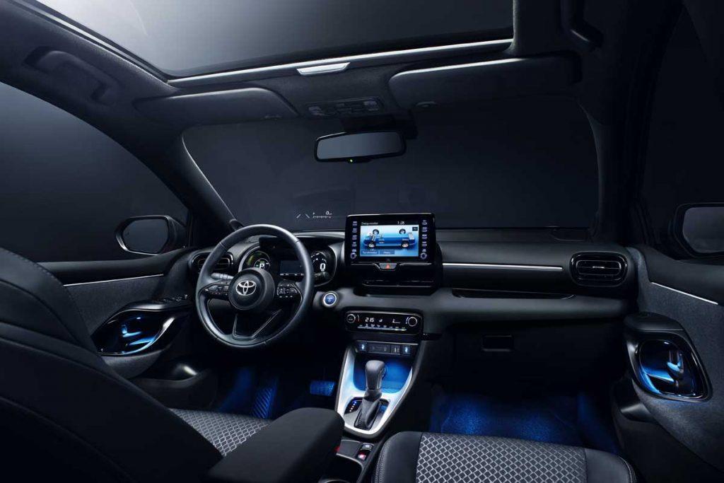 Toyota Yaris interior 2020