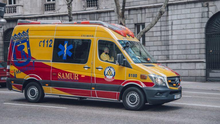 Accidente policías M45