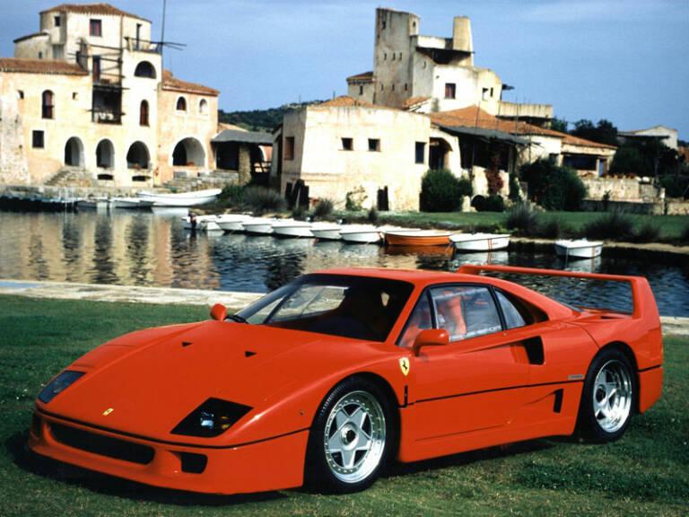 Bola extra - Ferrari F40