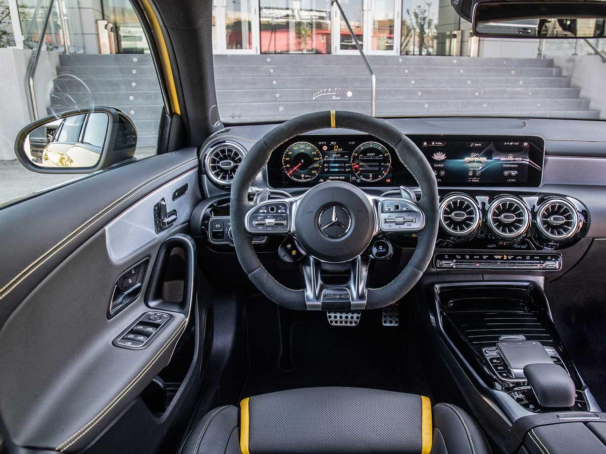 mercedes-amg a 45 s interior