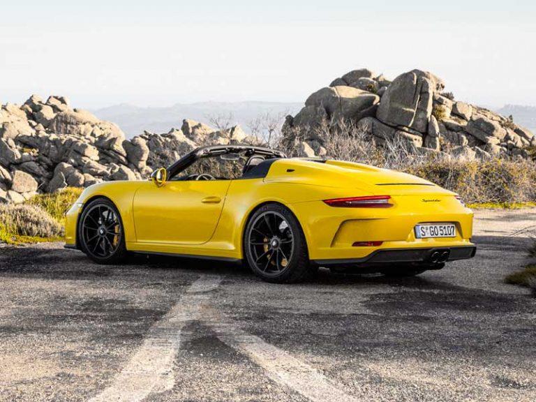 porsche 911 speedster velocidad maxima