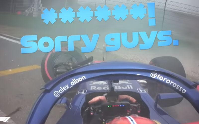 Accidentes Fórmula 1