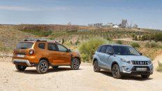 Comparartiva Dacia Duster TCe 130 4x4 Prestige vs Suzuki Vitara 1.4 VVT 4x4 GLX 2019