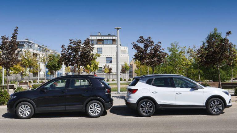 Comparativa Volkswagen T-Cross Advance 1.0 TSI 95 CV vs SEAT Arona xCellence Edition 1.0 TSI 95 CV 2019