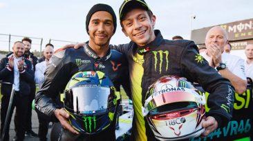 Intercambio Rossi - Hamilton