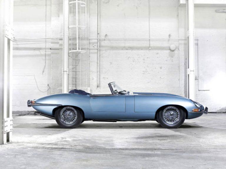 Jaguar E-Type - ZAPATILLA