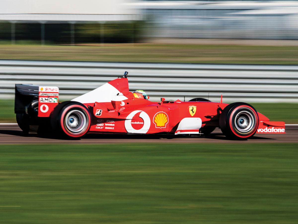 Subasta Ferrari F2002 Schumacher