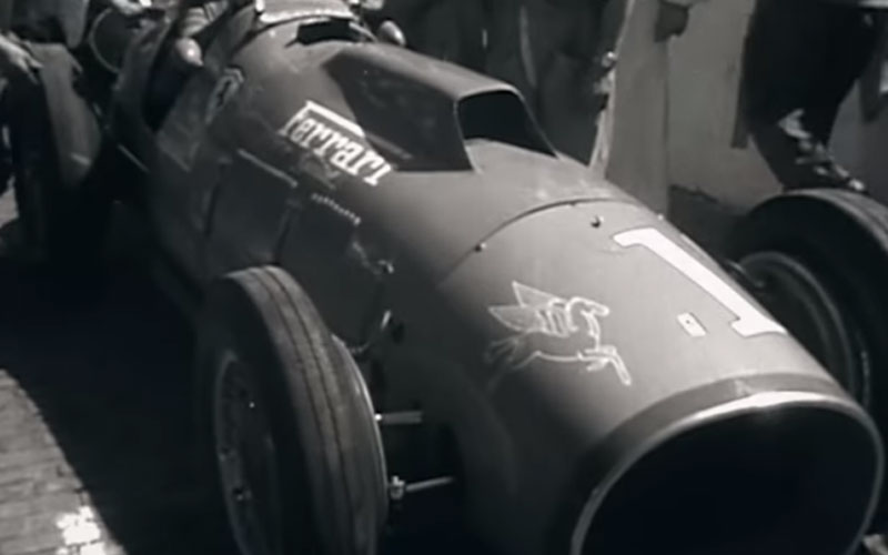 Video Ferrari Historia