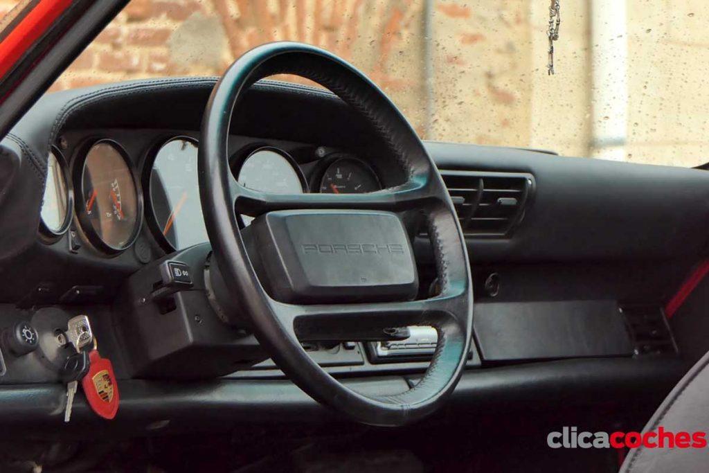 porsche 911 964 interior