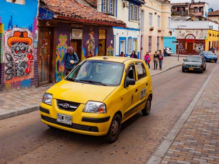 taxi bogotá