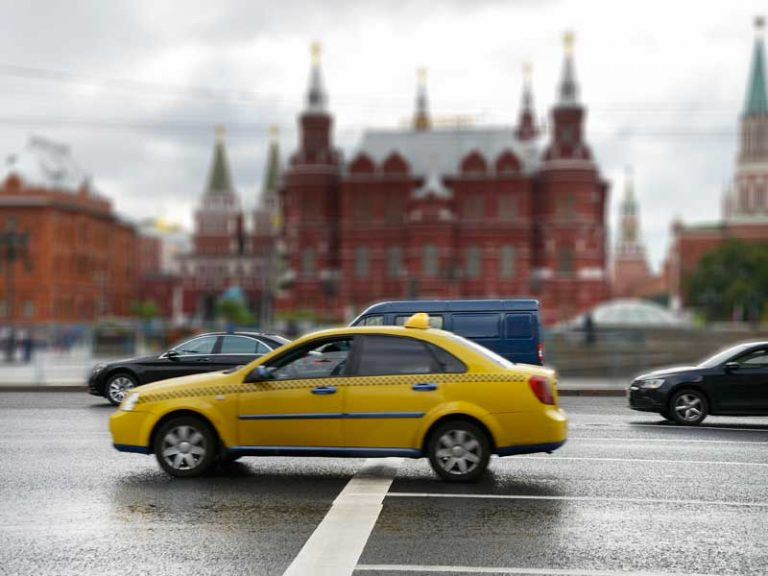 taxi moscú