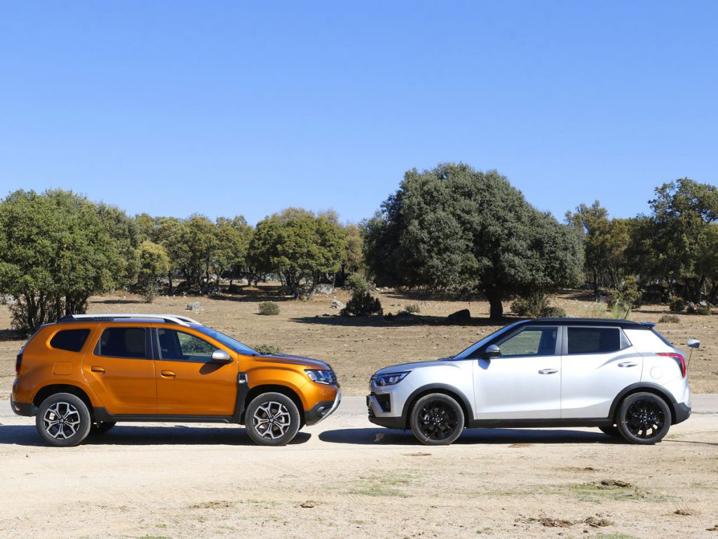 Comparativa Dacia Duster vs SsangYong Tivoli 2020