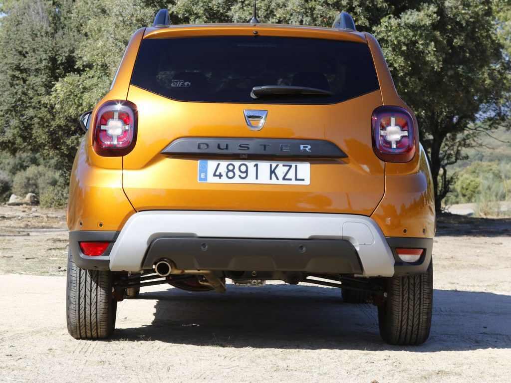 Prueba Dacia Duster 2020