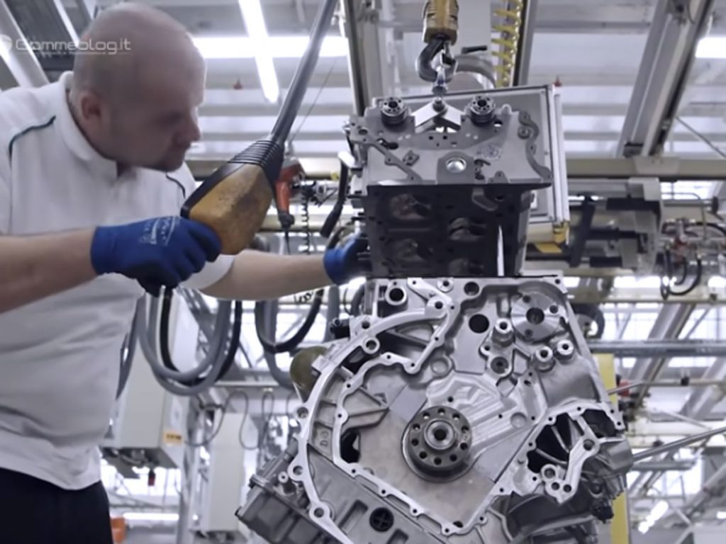 Video fabricación motor Bentley