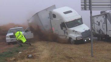 accidente camión vídeo