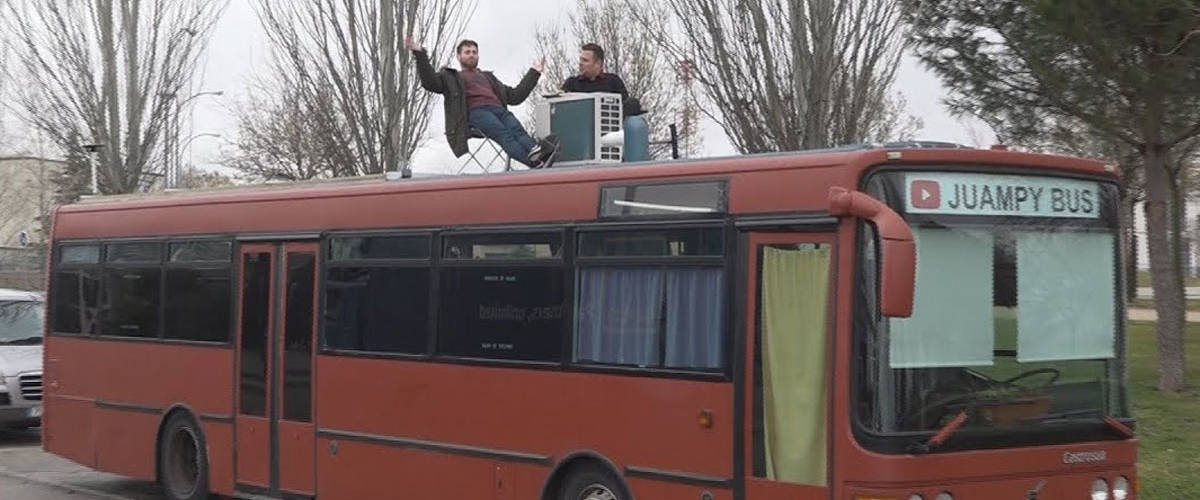 autobús urbano casa