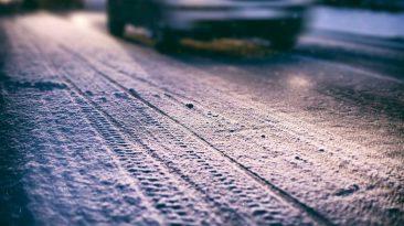 conducir con hielo