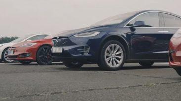 coomparativa velocidad Tesla