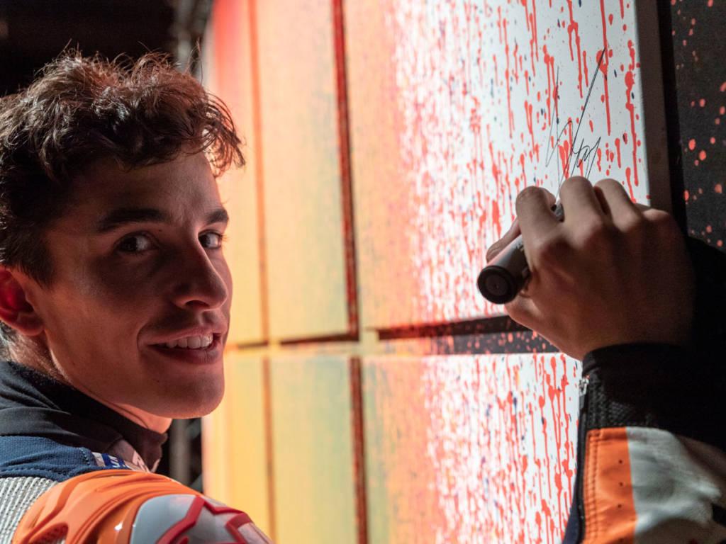 cuadro Marc Márquez