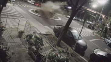 Accidente BMW M4