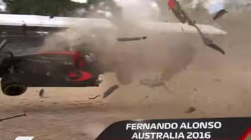 Accidentes vuelta de campana Fórmula 1