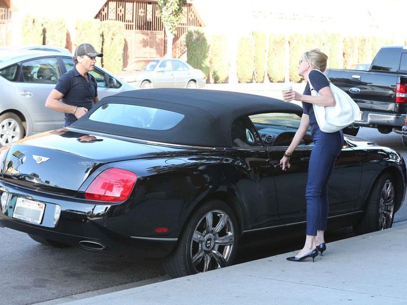 Antonio Banderas - Bentley Continental