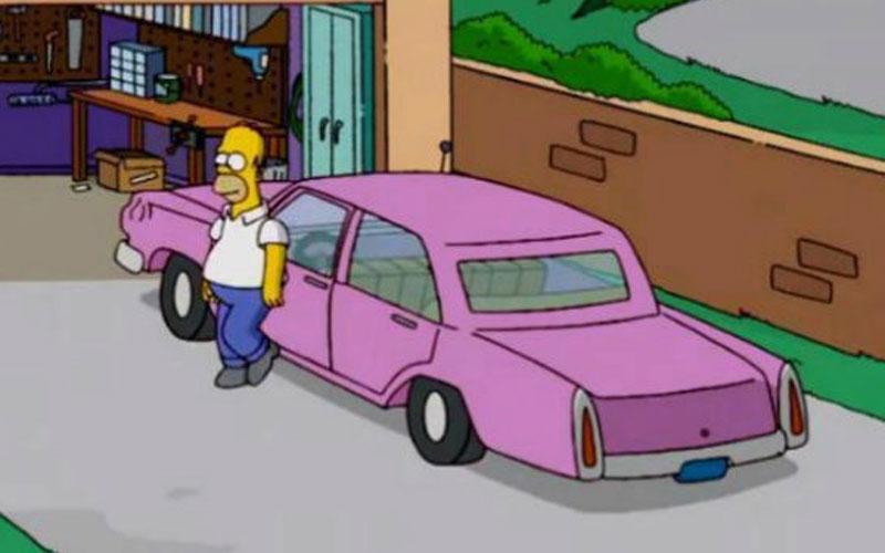 Bonus track: berlina sedán de Los Simpson