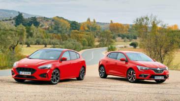 Comparativa Ford Focus ST Line vs Renault Megane