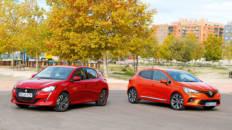 Comparativa Peugeot 208 vs Renault Clio 2020