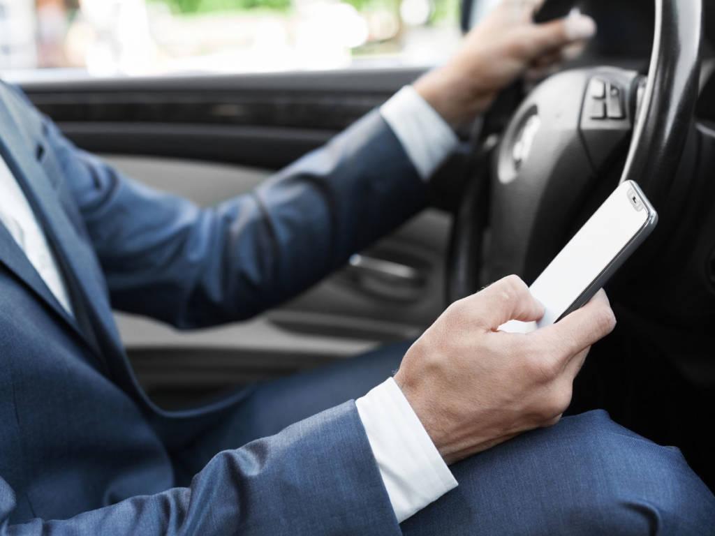 Distracciones al volante