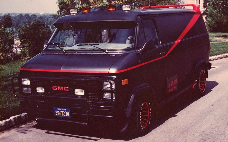 GMC Vandura – El Equipo A