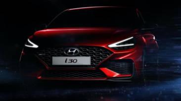 Hyundai i30 2020 boceto