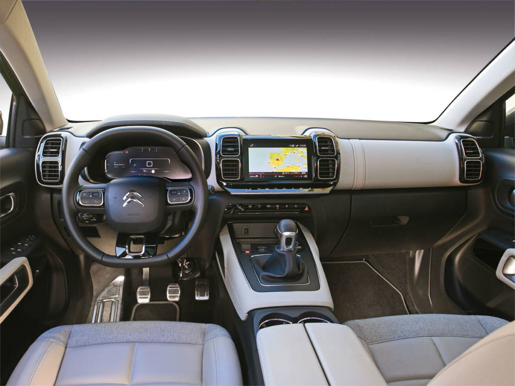 Interior Citroën C5 Aircross 2020