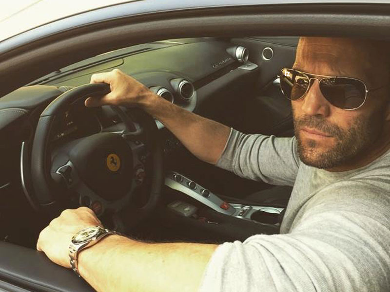 Jason Statham - Ferrari F12 Berlinetta