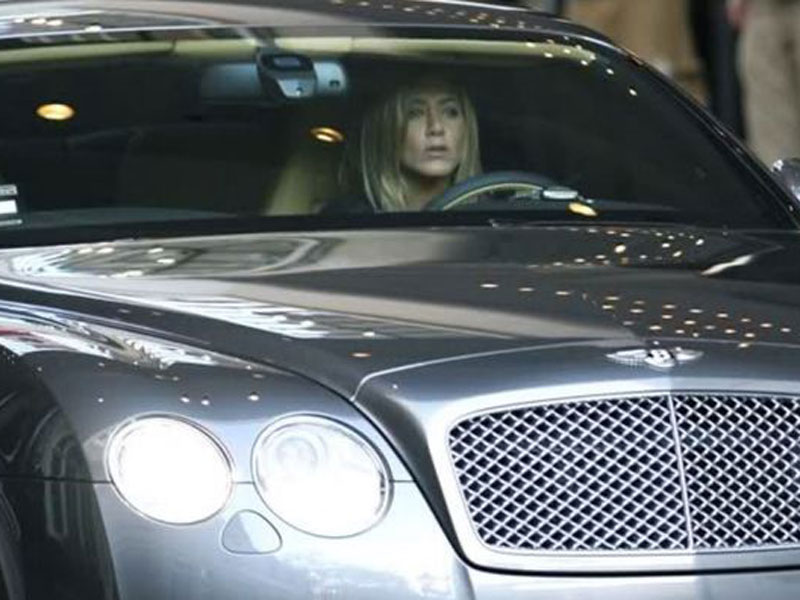 Jennifer Aniston - Bentley Continental GT