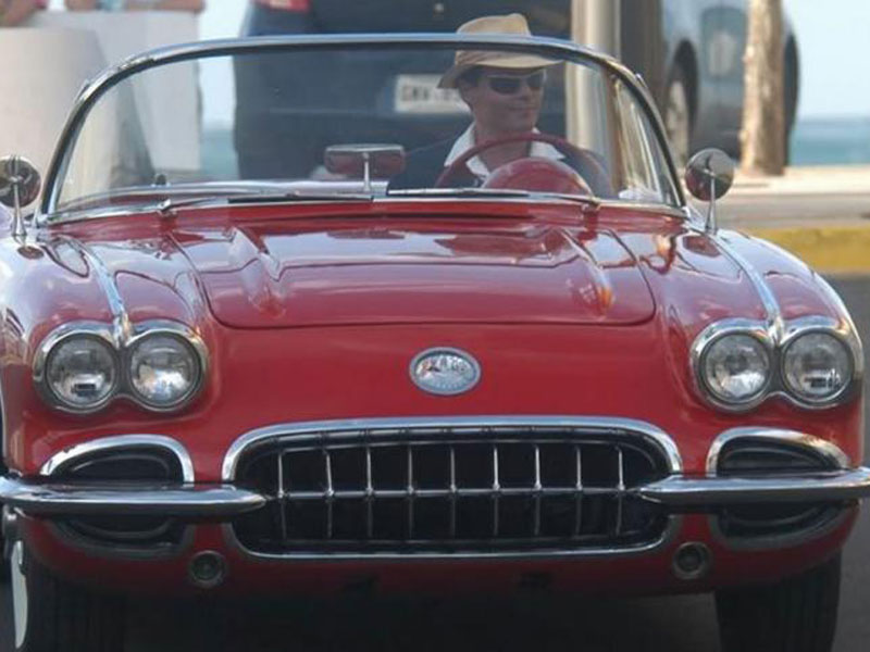 Johnny Depp - Chevrolet Corvette