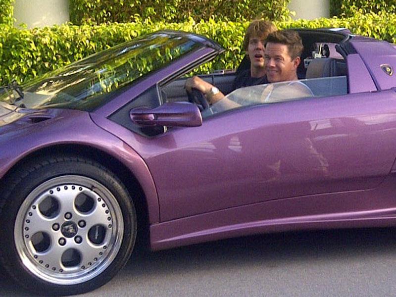 Mark Wahlberg - Lamborghini Diablo