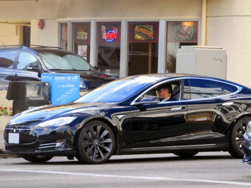 Matt Damon - Tesla Model S