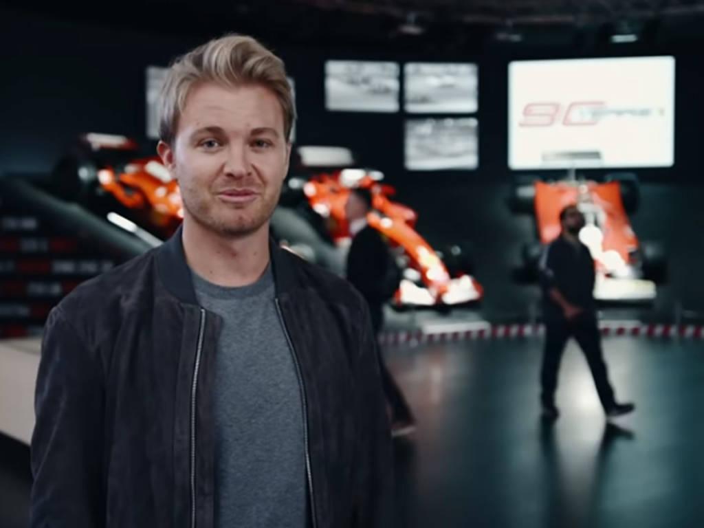 Nico Rosberg Ferrari Monza SP1